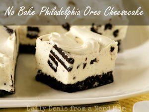 No Bake Philadelphia Oreo Cheesecake