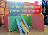 Get Their Imagination Flowing with a Puzzle Play Mat!