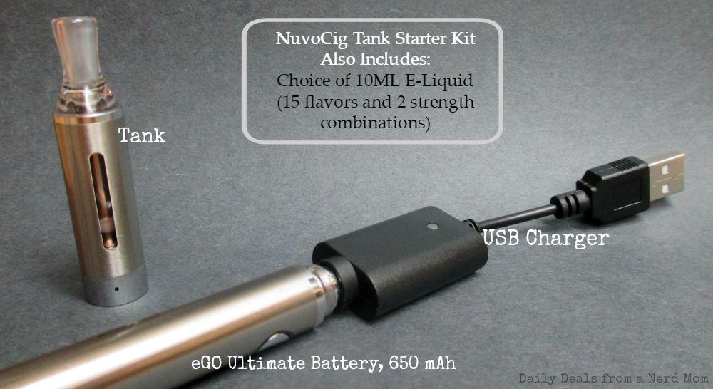 NuvoCig Tank Starter Kit
