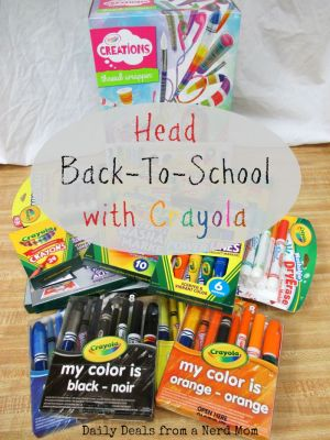 Head Back-To-School with Crayola!