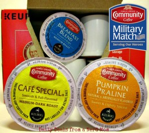 Community Coffee Military Match Program