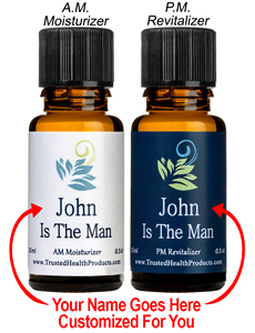The Man A. M. Moisturizer and P. M. Revitalizer – for Men