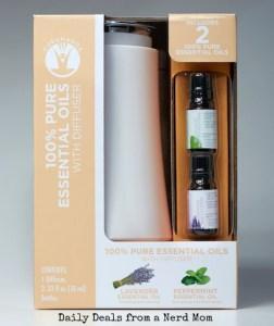 GuruNanda Essential Oils with Diffuser