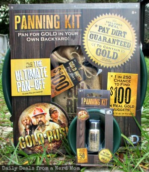 Bring a Little GOLD RUSH Home with Gold Rush Panning Kits!