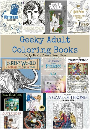 Geeky Adult Coloring Books