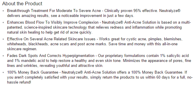 Neutralyze Anti-Acne Solution