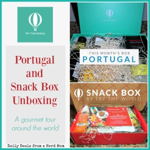Try the World – Portugal and Snack Box Unboxing