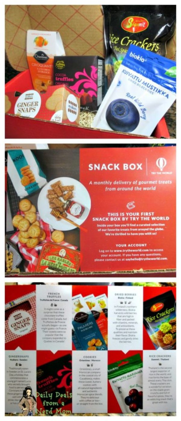 Try the World - Portugal and Snack Box Unboxing