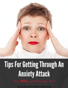 Tips For Getting Through An Anxiety Attack