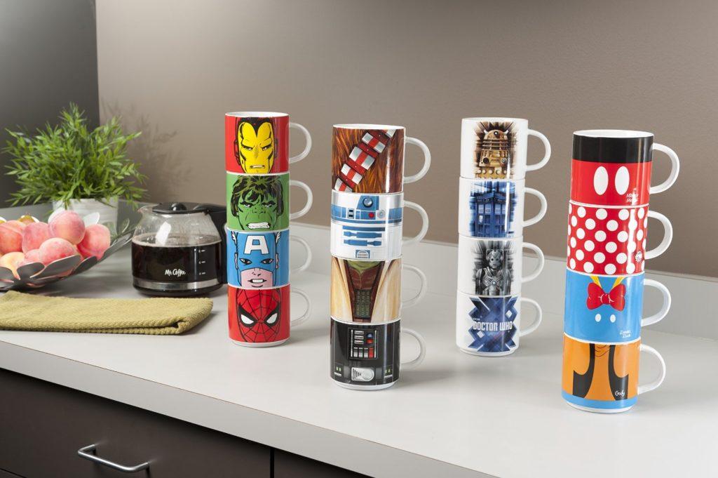 Stacking Ceramic Mug Sets