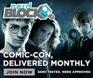 Nerd Block: Comic-Con Delivered Monthly!