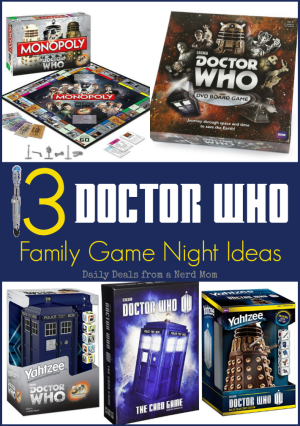 Doctor Who Family Game Night