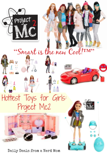 Hottest Toys for Girls: Project Mc2