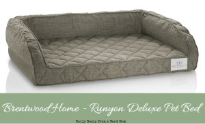 Brentwood Home – Runyon Deluxe Pet Bed