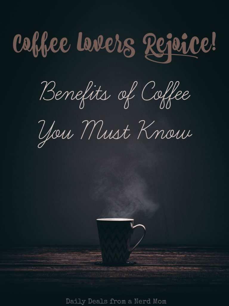 Coffee Lovers Rejoice! Benefits of Coffee You Must Know