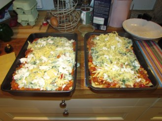 Lasagne Layers Cheese