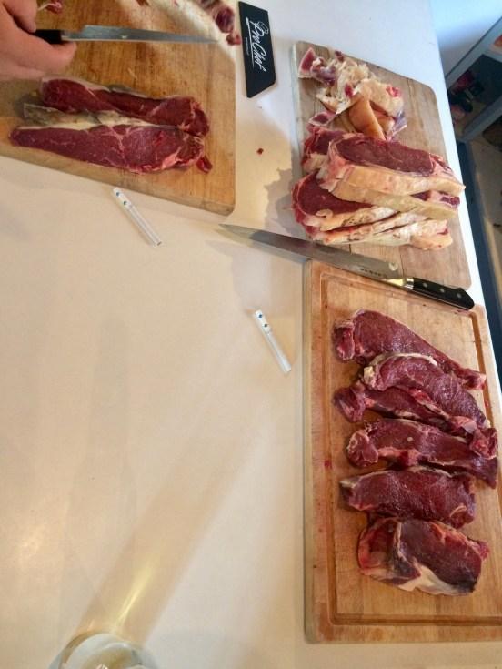 17 steaks