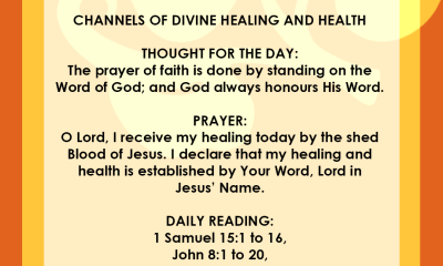 Seeds Of Destiny 14 May 2019 - Channels Of Divine Healing And Health