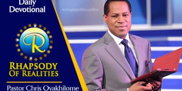 Rhapsody of Realities 24th February 2020, Rhapsody of Realities 24th February 2020 – The Resurrection Gave Us Newness of Life
