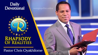 Rhapsody Of Realities 19th September 2020, Rhapsody Of Realities 19th September 2020 – Be Conscious Of Your Life In Christ