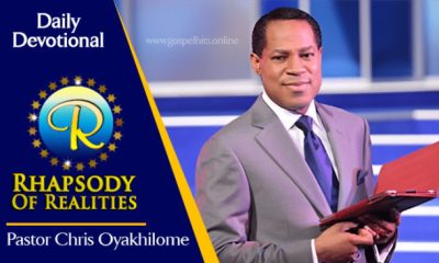 Rhapsody Of Realities 19th September 2020 - Be Conscious Of Your Life In Christ by Pastor Chris Oyakhilome