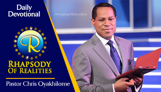 Rhapsody of Realities Saturday 3rd April 2021 Message - Be Conditioned To Your Divine Nature