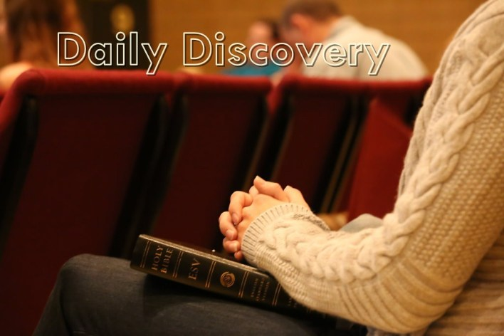 Daily Discovery 4th October 2020 Devotional, Daily Discovery 4th October 2020 Devotional – God Save The King