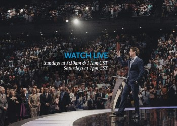 Joel Osteen Sunday Live Service 29th March 2020 At Lakewood Church