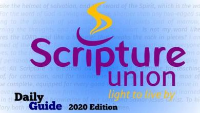 Scripture Union Daily Guide 1st November 2020, Scripture Union Daily Guide 1st November 2020 – Like Father Like Son