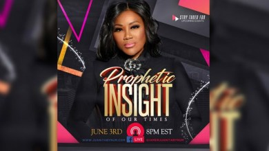 Watch Dr. Juanita Bynum Prophetic Insight of Our Time 3rd June 2020