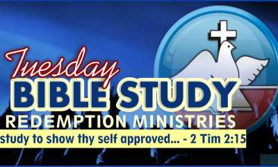 Redemption Ministries Weekly Bible Study 25th August 2020 Outline
