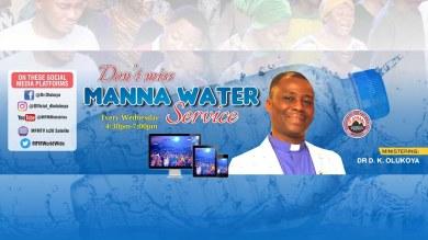 Watch MFM Manna Water Service 17th March 2021 Live