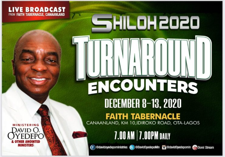 Watch Shiloh 2020 Turnaround Encounter 8th to 13th December 2020 Day 1