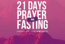 Winners Chapel 21 Days Fasting And Prayer 19th January 2021 Points Day 16