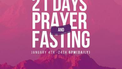 Winners Chapel 16th January 2021 Fasting And Prayer Points for Day 13, Winners Chapel 16th January 2021 Fasting And Prayer Points for Day 13