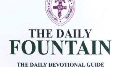 Anglican Daily Fountain 13th May 2021 Devotional - Ascension Of Jesus