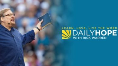 Daily Hope with Rick Warren 10th April 2021 - Build Your Life on What Will Last Forever