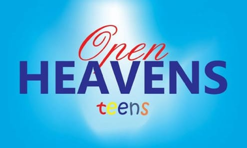 Open Heaven For Teens 3rd May 2021 – Stand By Your Words II