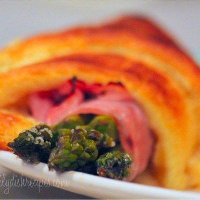 Ham and Asparagus Roll-Ups