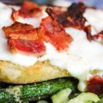 Ciabatta Bread Bacon Pizza