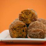 Pumpkin Donut Holes #SundaySupper