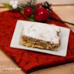 Spiced Gingerbread Gooey Butter Cake | A Twist on a Favorite | #SundaySupper