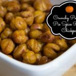 Crunchy Pumpkin Pie Spice Roasted Chickpeas