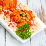 Summer Recipes: Basil Tomato Butter Chicken #DinnerDone #shop