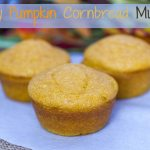 Honey Pumpkin Cornbread Muffins