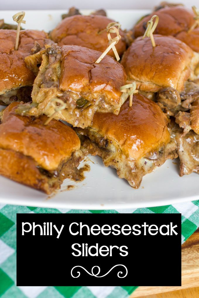 Top 20 Most Popular Recipes from 2016 Philly Cheesesteak Sliders