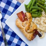 #ad Cheesy Jalapeno Bacon Chicken Roll Ups