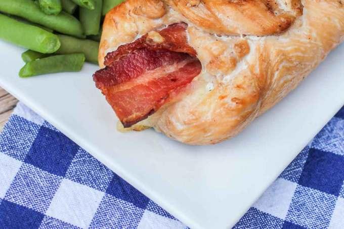 #ad Cheesy Jalapeno Bacon Chicken Roll Ups