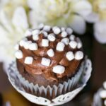 Chocolate Marshmallow Cupcakes #SundaySupper