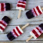 Patriotic Smoothie Popsicles #SundaySupper